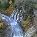 白ひげの滝です