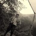 ワイルドな渓流釣師