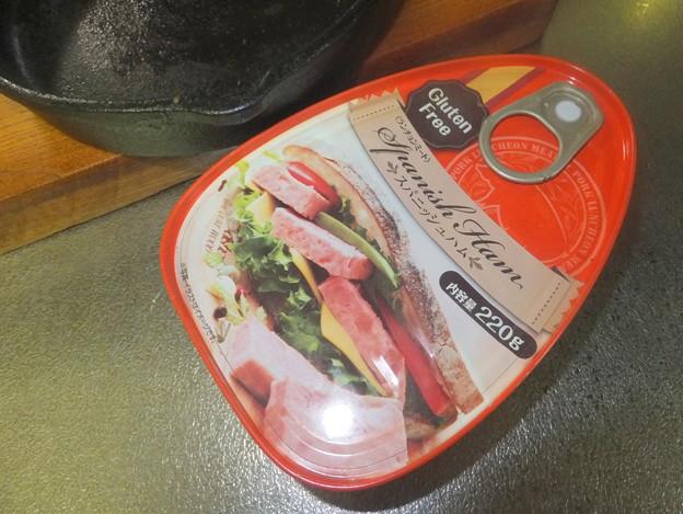 スパニッシュハム缶詰