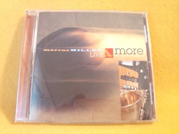 MARCUS MILLER LIVE & MORE ライブ盤 CD