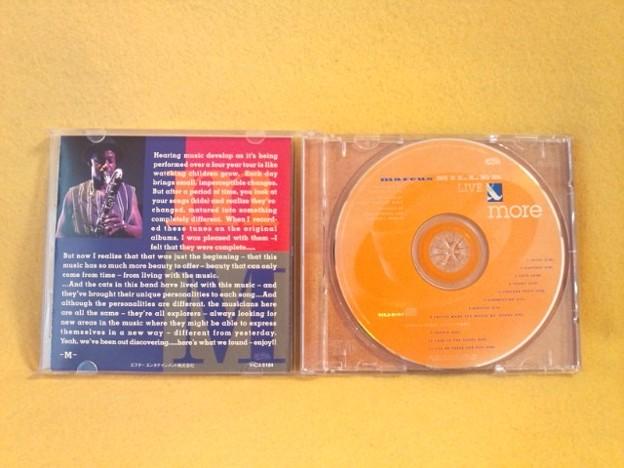 マーカス・ミラー ライブ盤 CD