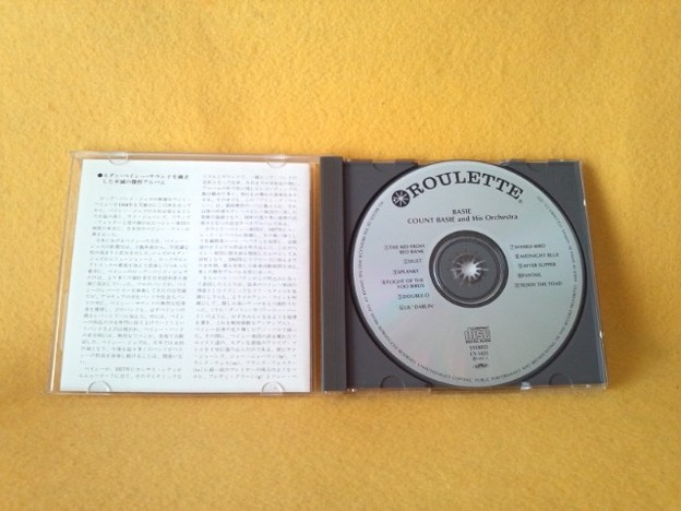 COUNT BASIE AND HIS ORCHESTRA CD CY1435
