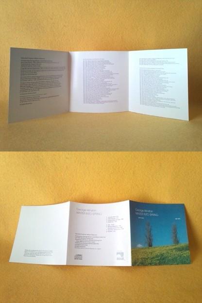 ウィンター イントゥ スプリング CD ジョージ ウィンストン ピアノ ソロ