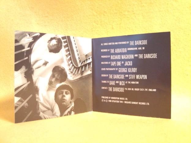 歌詞カード All That Noise THE DARKSIDE CD