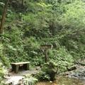 写真: 亀石の滝