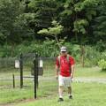 森林公園ウォークここでk-bokuさん合流