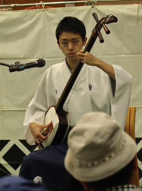 写真: 津軽三味線奏者 中村祐太さん