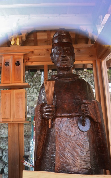 松平信康(徳川家康,嫡男信康) 木像彫刻