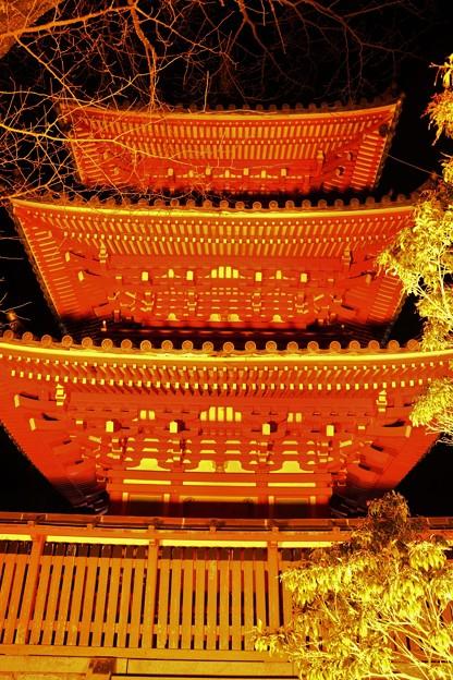 奥山方広寺三重塔