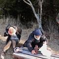 写真: 今朝の富幕山