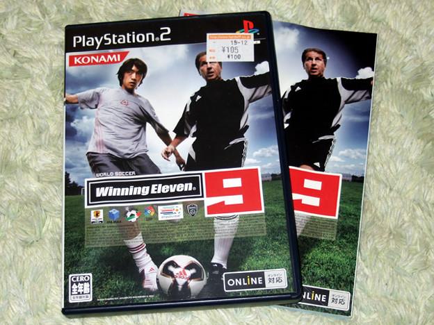 PS2 ワールド ウイニング・イレブン9
