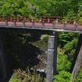 Photos: 赤い欄干の橋