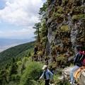 Photos: 山を下る