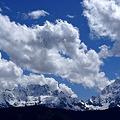 写真: 6000mの雲