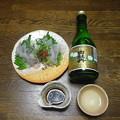Photos: RIMG3715東広島市、白牡丹上撰とコチの造り