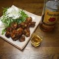 Photos: RIMG3732フォアローゼスと鶏のから揚げ