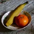 写真: お見舞いの果物は