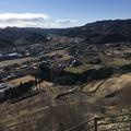 皆川城址公園からの眺望 (1)