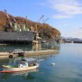 写真: 造船の街