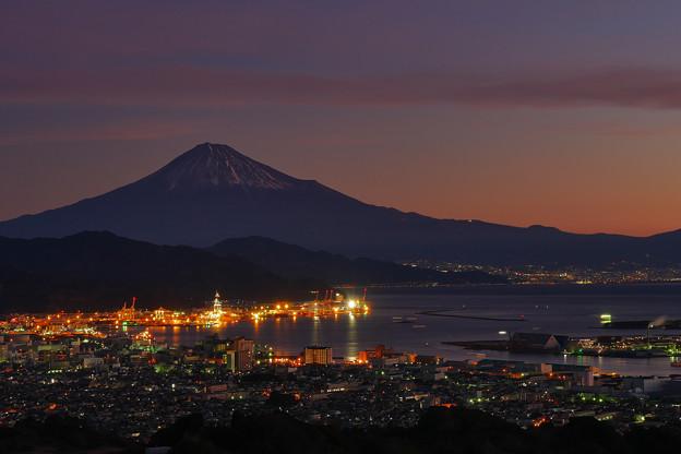 日本平から富士山