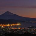 写真: 日本平から富士山