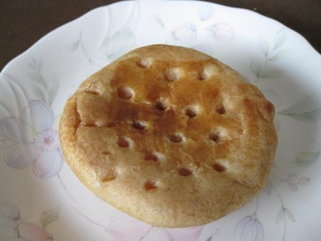 パイ饅頭スタイルのアップルパイ
