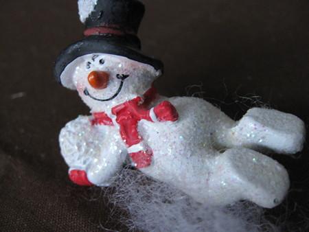 ミュンヘン・クリスマス市で買ったスノーマン