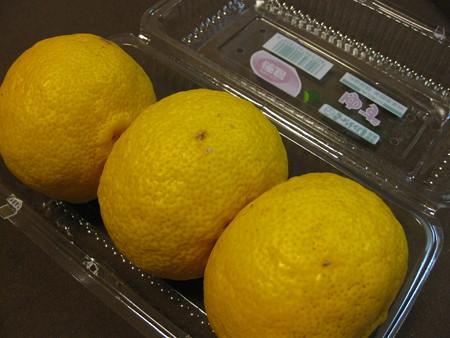 柚子3個パック♪