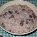 写真: 小正月の小豆粥
