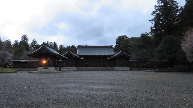 吉野神宮(奈良県吉野町吉野山)境内・神門