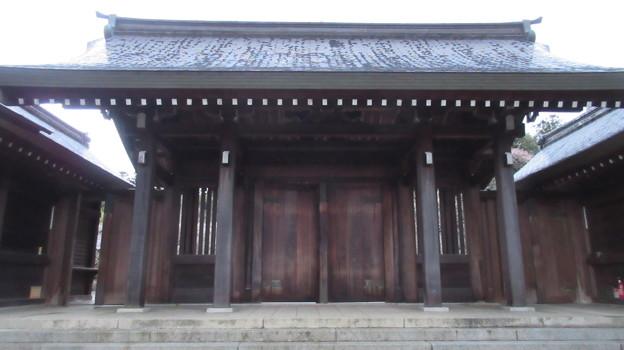 吉野神宮(奈良県吉野町吉野山)神門