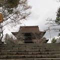 金峯山寺(吉野町吉野山)二天門跡