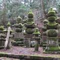 Photos: 高野山金剛峯寺 奥の院(高野町)上州高崎安藤家墓所