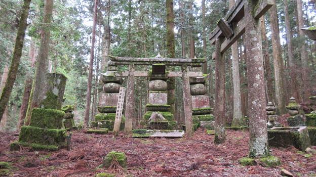 高野山金剛峯寺 奥の院(高野町)丹波篠山松平家墓所