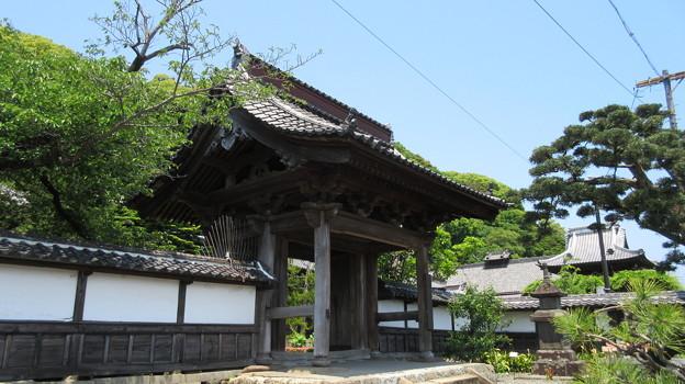 清見寺(清水区)山門