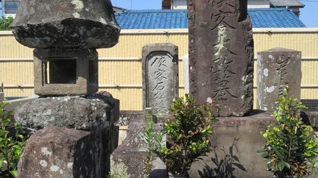 Photos: 梅蔭寺(清水区)石松墓