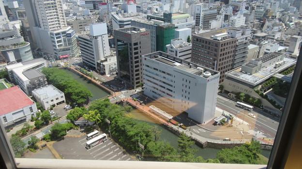 駿府城(静岡県庁別館21F展望ロビー)三の丸堀