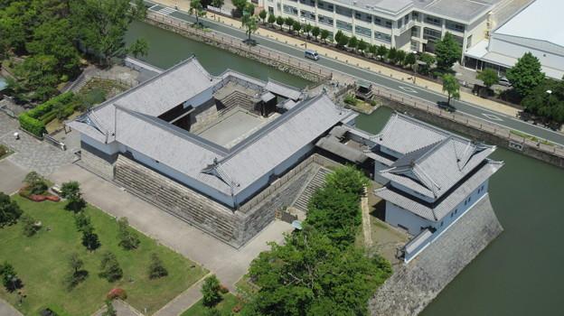駿府城(静岡県庁別館21F展望ロビー)東御門