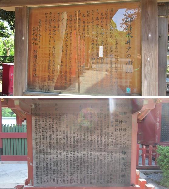 駿河国総社 浅間神社(静岡市葵区)御神水