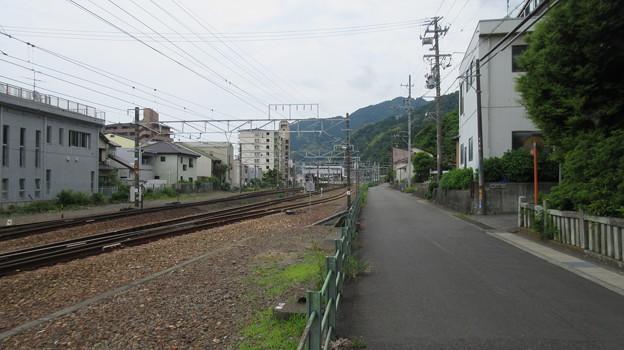 浅間神社(駿河区用宗城山町)かつて海、用宗駅は持船城船溜まり