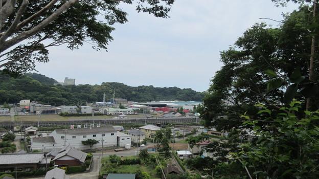 石脇城(焼津市)東南