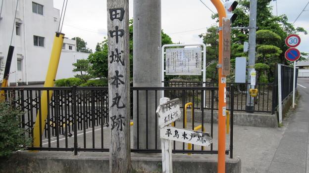 田中城(藤枝市)本丸