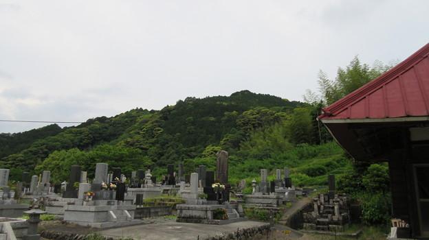 萬年寺(藤枝市)朝比奈城