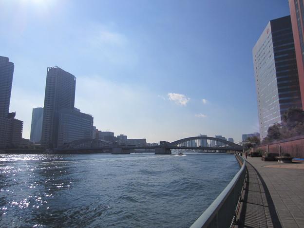 11.11.07.隅田川・勝鬨橋(中央区築地7丁目)