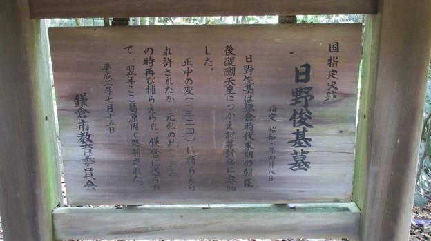 Photos: 日野俊基墓(鎌倉市)