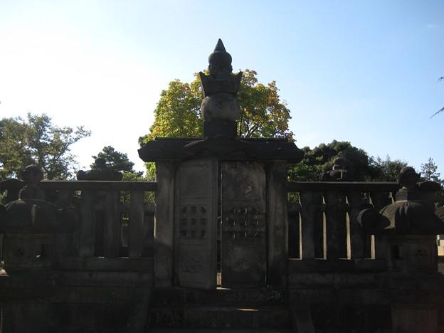 谷中霊園(台東区)津山藩松平家合祀墓