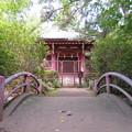 石神井城(練馬区。都立石神井公園)厳島神社
