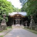 石神井城氷川郭(練馬区。都立石神井公園)氷川神社