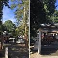Photos: 八幡神社/来住野氏城館(あきる野市)