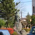 写真: 日光東照宮(栃木県)天海大僧正像